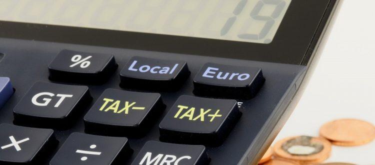 ilustração redução de impostos