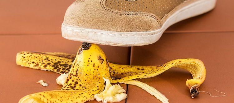 ilustração casca de banana