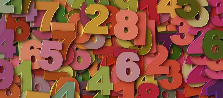 ilustração números