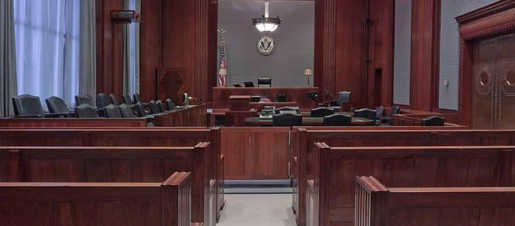 ilustração tribunal
