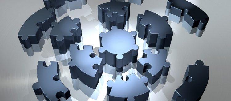 ilustração puzzle